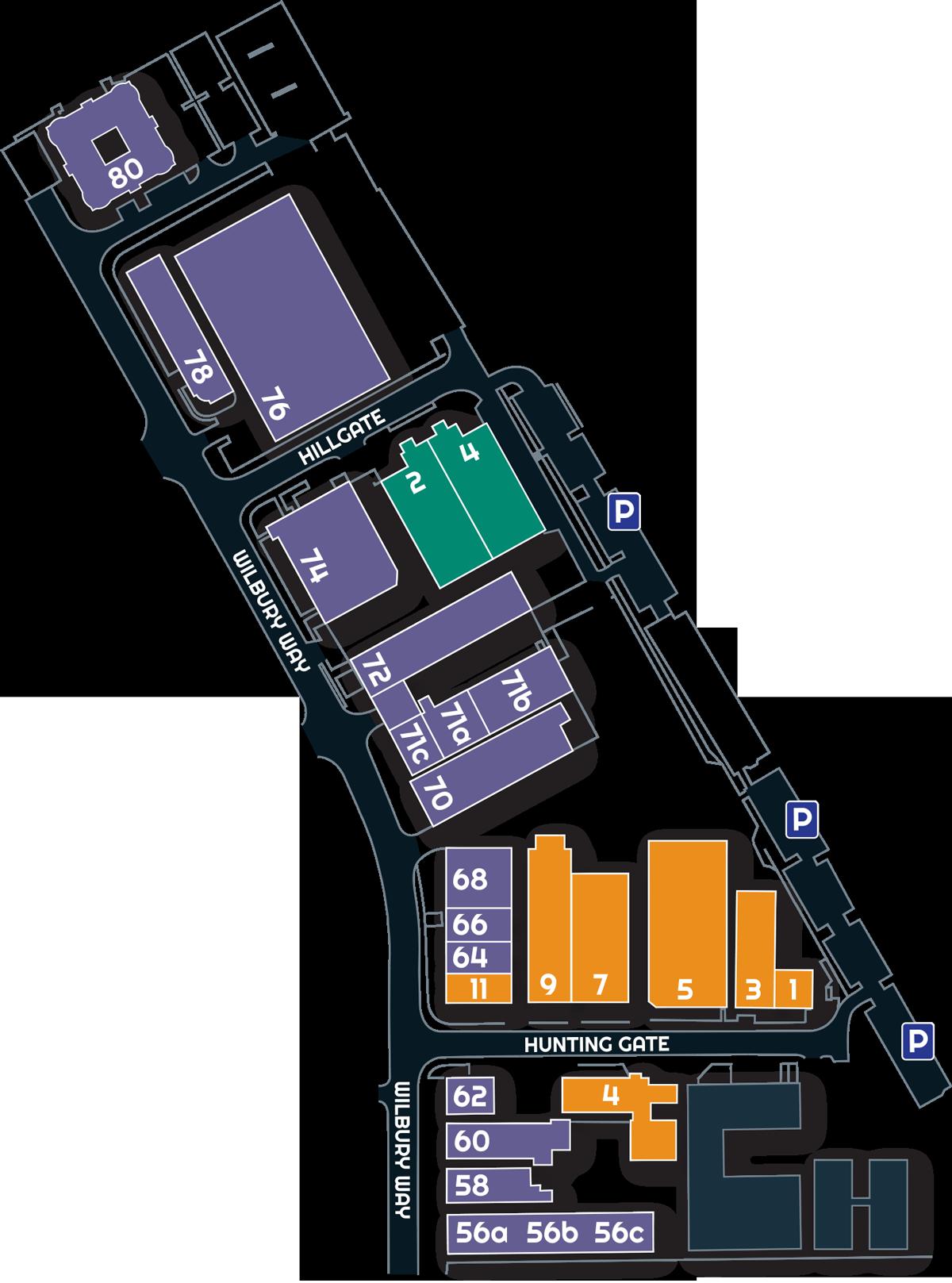 Wilbury Park Sitemap